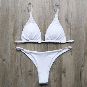 Bikini N' Waves: Two Piece Swimsuit - Myrtle Beach Metal Bikini Set
