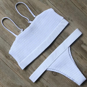 Bikini N' Waves: Two Piece Swimsuit - Varadero Bandeau Bikini Set