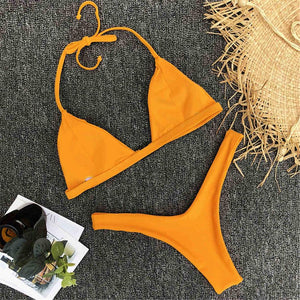 Bikini N' Waves: Two Piece Swimsuit - Tampa Classic Triangle Bikini Set