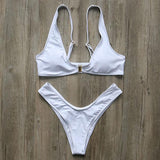 Bikini N' Waves: Two Piece Swimsuit - St Regis Royal Bikini Set
