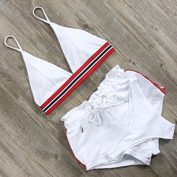 Bikini N' Waves: Two Piece Swimsuit - San Diego three piece bikini set