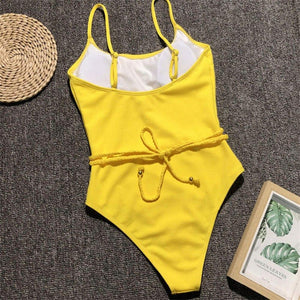 Bikini N' Waves: One Piece Swimsuit - California Ribbed Exclusive Monokini