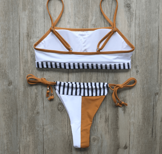 Bikini N' Waves: Two Piece Swimsuit - Lisbon Lux Brazilian Bikini Set