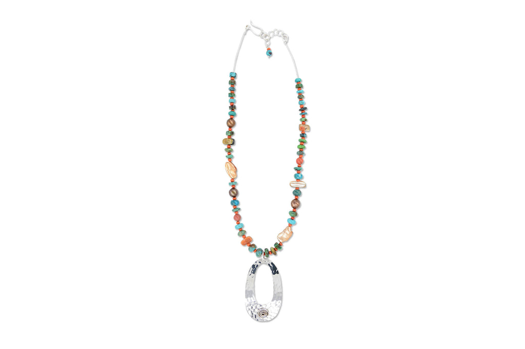 Camila Necklace - Multi-stone - Speero & Eden
