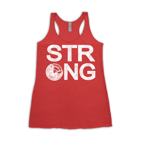Strong Tank top red