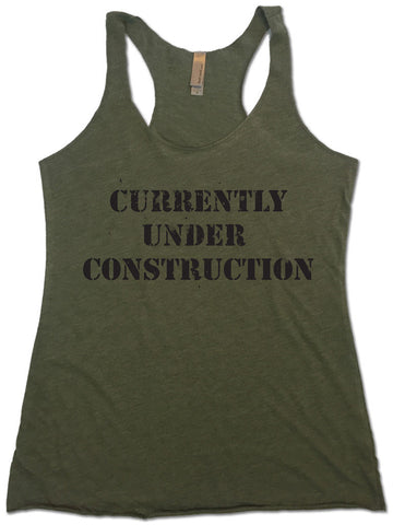 Women's Racerback Tank Top - Currently Under Construction