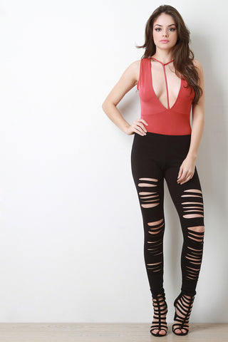 Slash Slit Leggings
