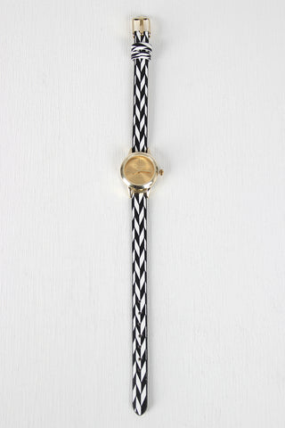 Herringbone Chevron Skinny Watch