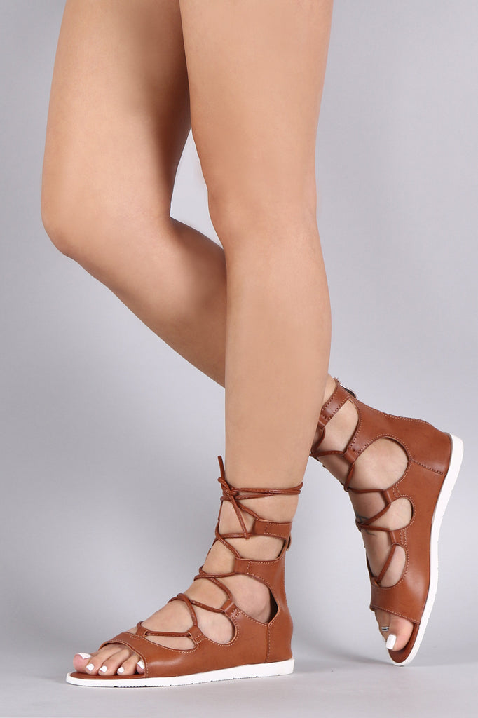 Lug Sole Gladiator Sandal
