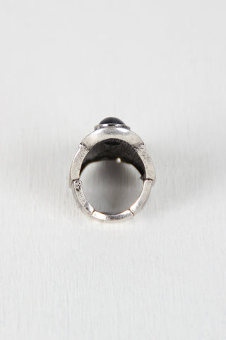 Three Stone Elastic Armor Ring