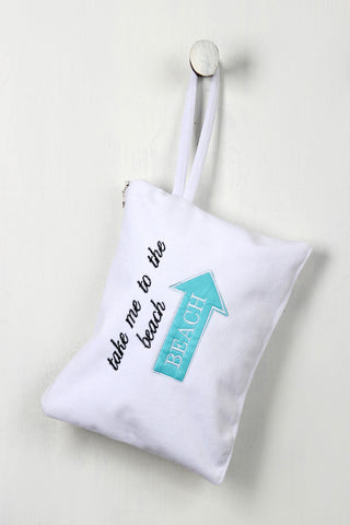 Take Me To The Beach Mini Bikini Bag