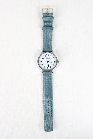 Keeping It Casual Denim Watch