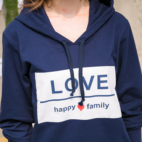 "Family Matching Clothes ""Love, Happy Family"""