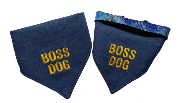Boss Dog Bandana