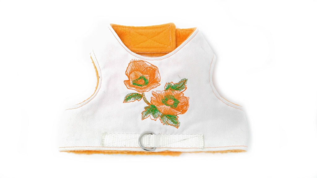 California Poppy Harness