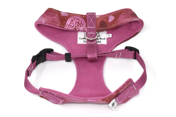 Shimmer Hearts Over-The-Head Harness