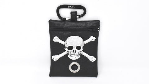 Skull & Crossbones Waste Bag Dispenser