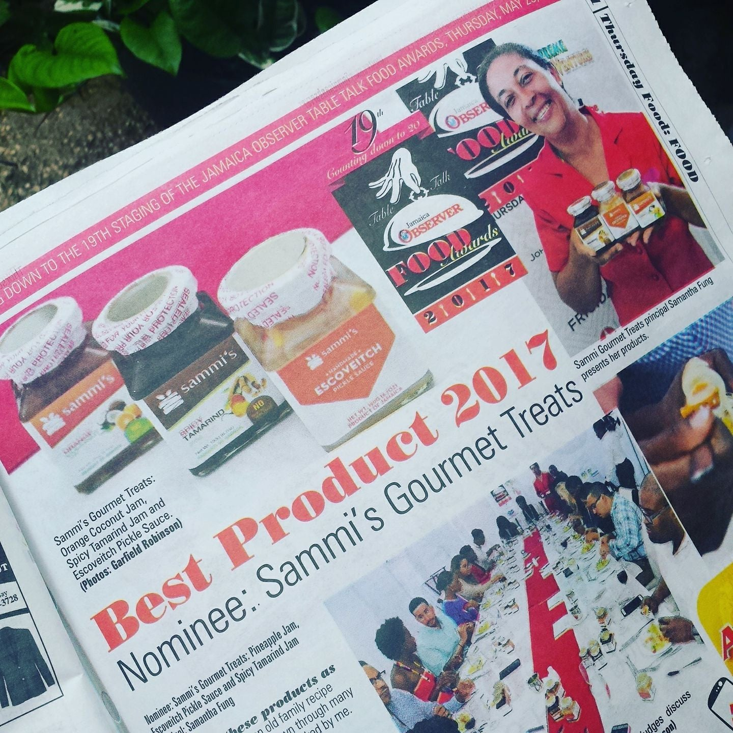 Jamaica Observer Food Awards Nomination Feature :)