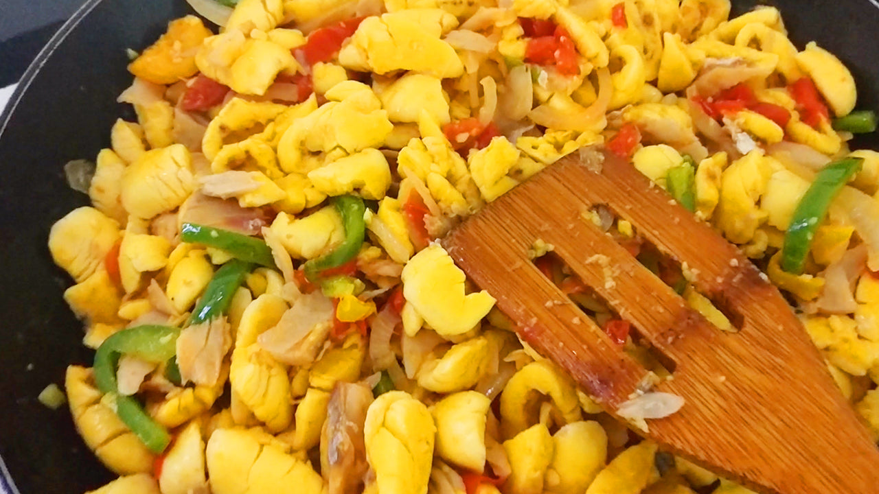 How to Cook Ackee and Saltfish (Easy Recipe)