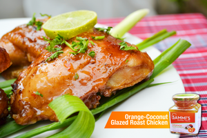 Recipe: Sammi's Gourmet Treats Orange-Coconut Glazed Chicken