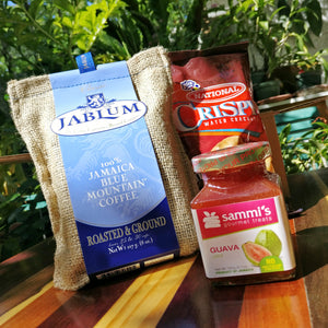 Breakfast Bundle with Jamaican Blue Mountain Coffee, Sammi's Guava Jam and Crackers