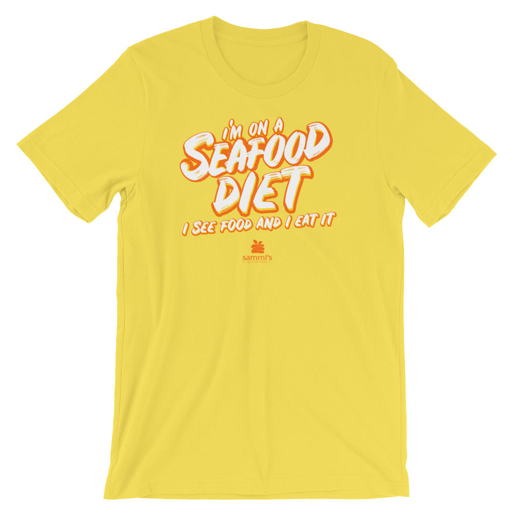 I'm On A Seafood Diet Short-Sleeve Unisex T-Shirt