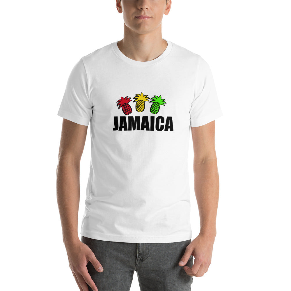Jamaican Pineapple Short-Sleeve Unisex T-Shirt