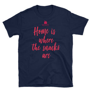Sammi's Home Is Where The Snacks Are Short-Sleeve Unisex T-Shirt
