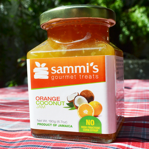 orange coconut jam