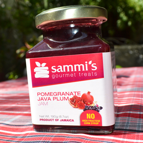Pomegranate-Java Jam 6.7oz