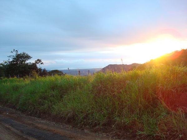 sunset near Concepcion Tarrazu