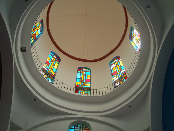 Dome at the church in San Marcos Costa Rica