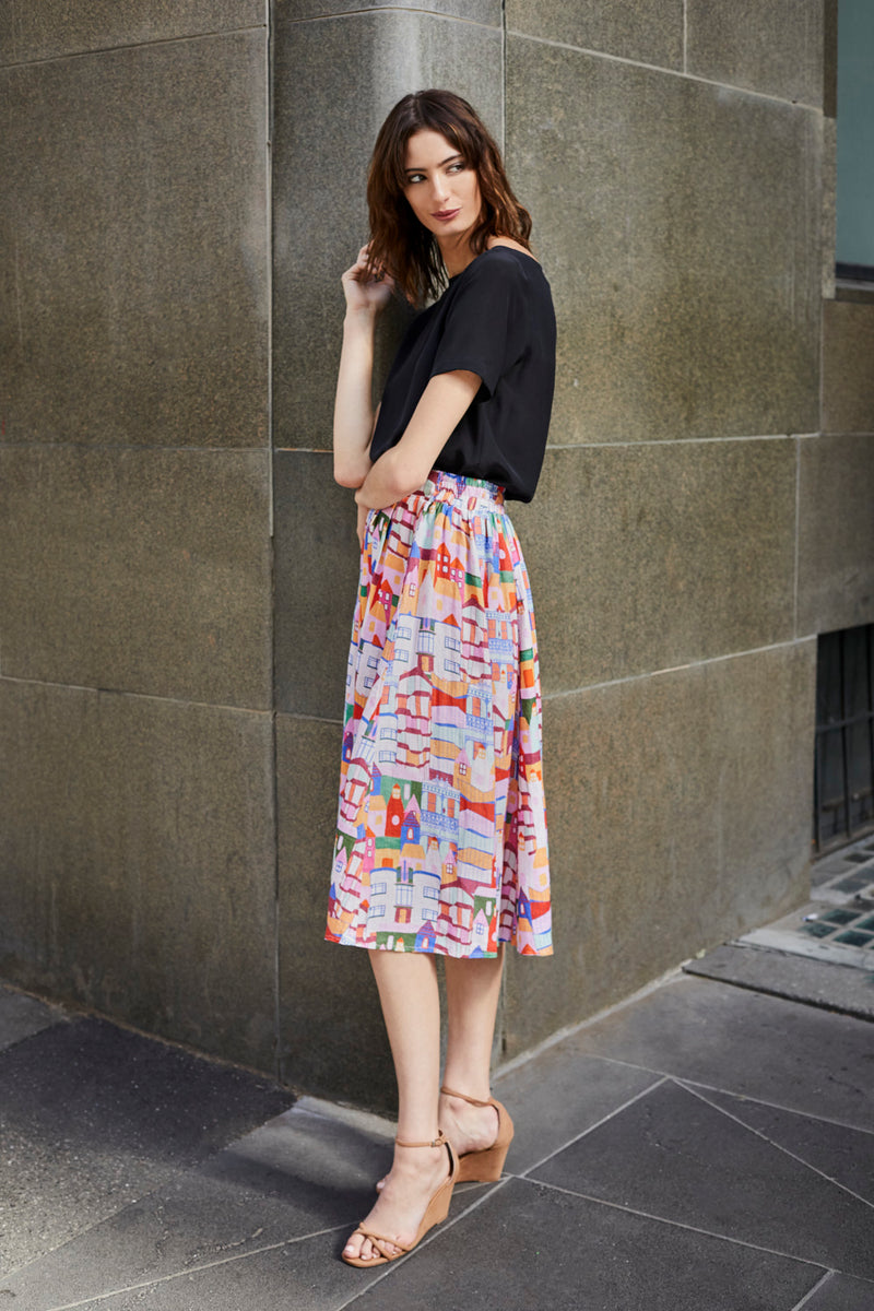 Kathleen Skirt - Urban Scapes