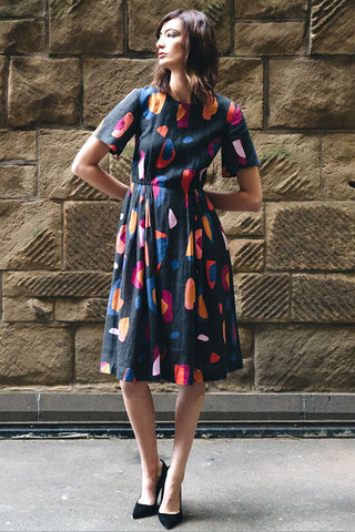 Sibylle Dress - Native Blooms