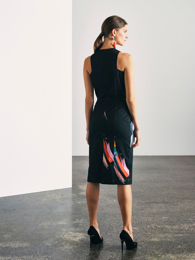 Maddison Dress - Electric Heart