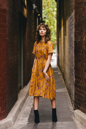 Dorothy Dress - Scalavender Print