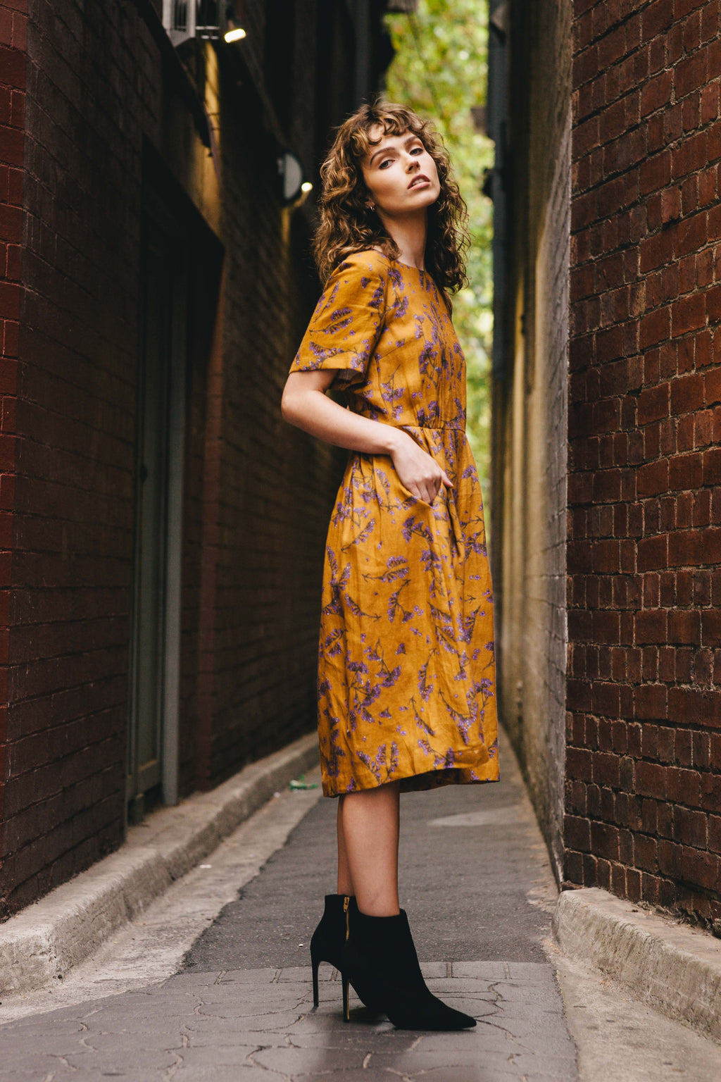 Dorothy Dress - Scalavender Print - Pre Order