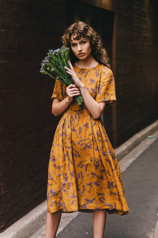 Dorothy dress - Olive Electric Heart