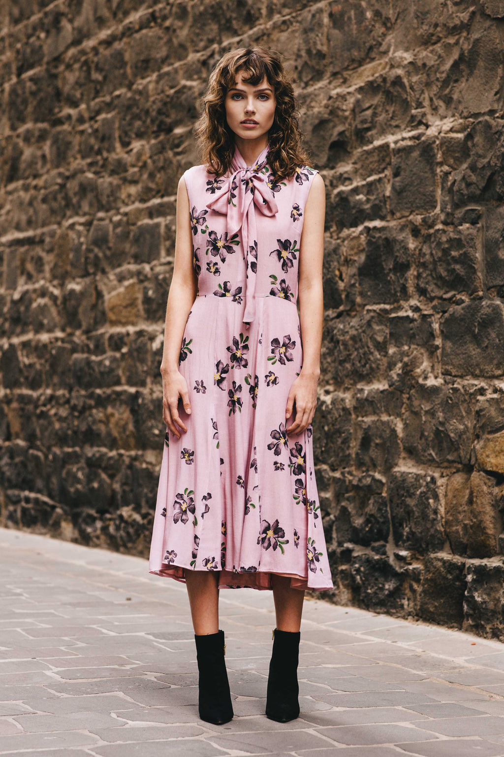 Eleanor Dress - Fleur Print