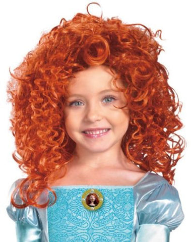 Merida Child Costume Wig -  Disney Pixar Brave Movie