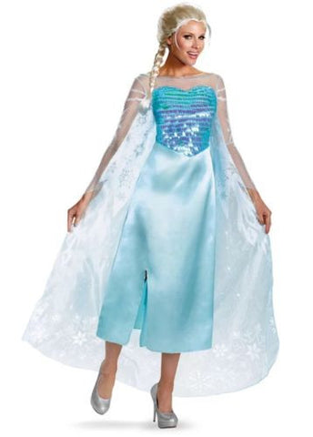 Disney Elsa Costume Frozen Womens Costume Size