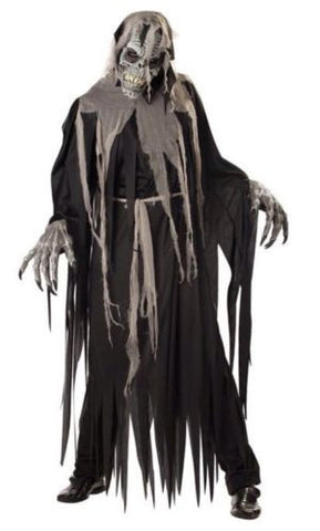 Crypt Crawler Adult LG 42-44 Halloween Costume W Anti-motion Mask