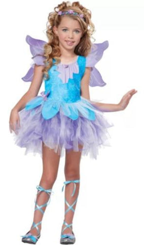 Lilac Fairy Butterfly Toddler Small 6-8 Halloween Costume