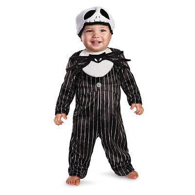 Nigtmare Before Christmas Disney Jack Skellington Child Infant Costume - Newborn