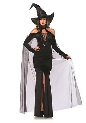 Sultry Sorceress - Sexy Sultry Horror Black Dress  - XLarge