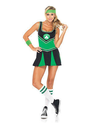 Sexy Boston Celtics Cheerleader Costume for Women - SM/MD