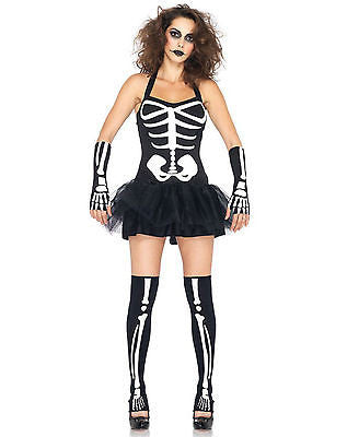 Leg Avenue Sexy Skeleton Adult - Glow in the Dark - SM/MD