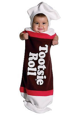 Kids Halloween Costume Tootsie Roll Baby Bunting Outfit - IN 3-9mo