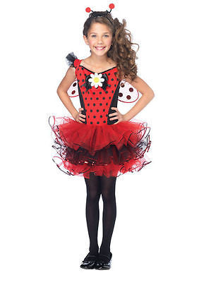 Cutie Lady Bug Ladybug Child Costume Size Small 4-6 - Insect Costume - NEW