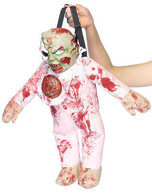 Zombie Monster Baby Halloween Costume Backpack Purse - Leg Avenue